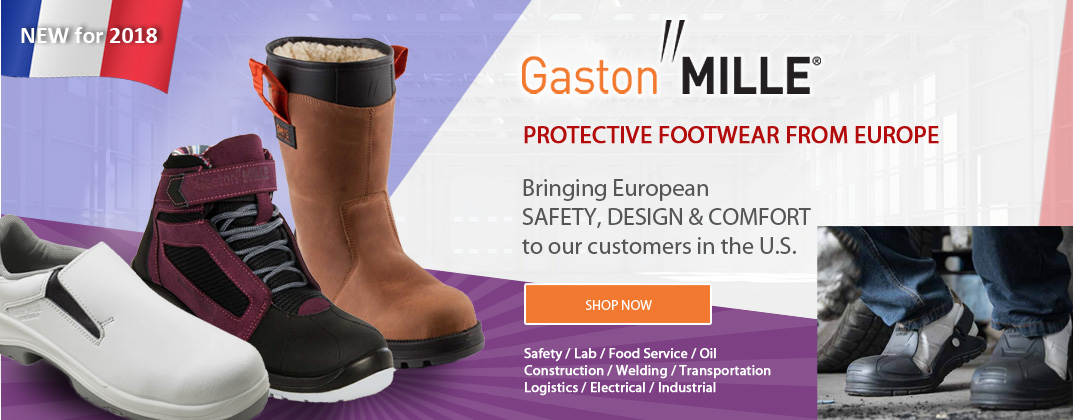 Gaston Mille Safety Footwear